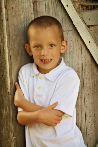 Our son Joey who was diagnosed with autism at age 3